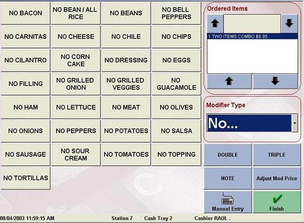 Restaurant Pos System For Fine Dining Fast Food And Pizza
